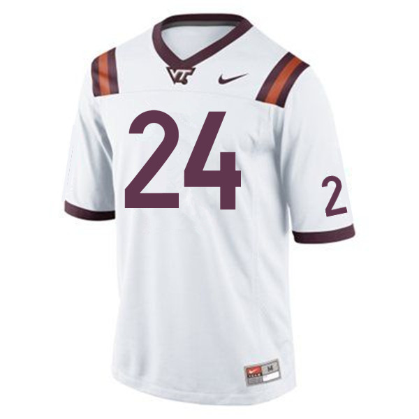 Men #24 Anthony Shegog Virginia Tech Hokies College Football Jerseys Sale-Maroon