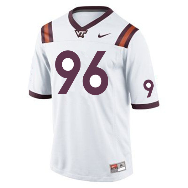 Men #96 Austin Reeves Virginia Tech Hokies College Football Jerseys Sale-Maroon