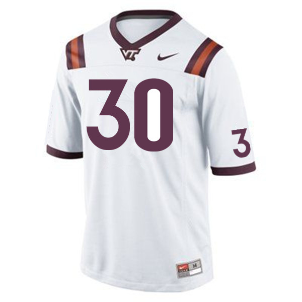 Men #30 Caleb Steward Virginia Tech Hokies College Football Jerseys Sale-Maroon