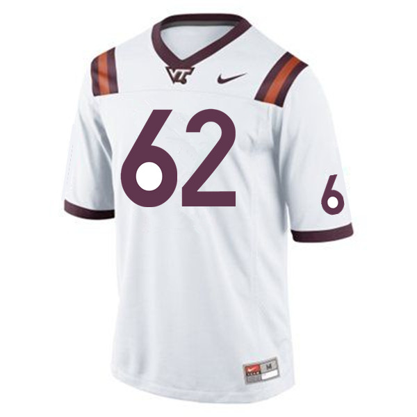 Men #62 D'Andre Plantin Virginia Tech Hokies College Football Jerseys Sale-Maroon
