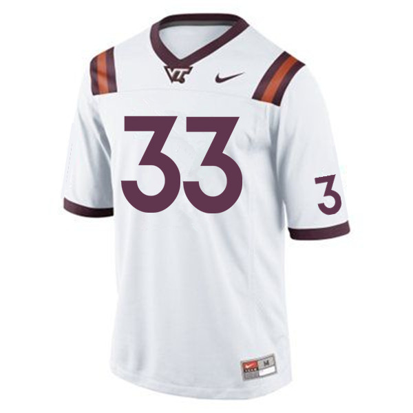 Men #33 Deshawn McClease Virginia Tech Hokies College Football Jerseys Sale-Maroon