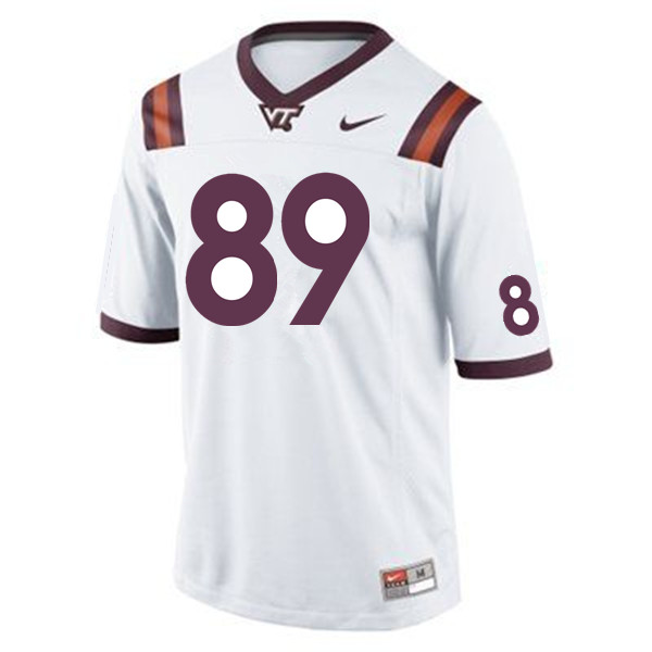 Men #89 Drake DeIuliis Virginia Tech Hokies College Football Jerseys Sale-Maroon