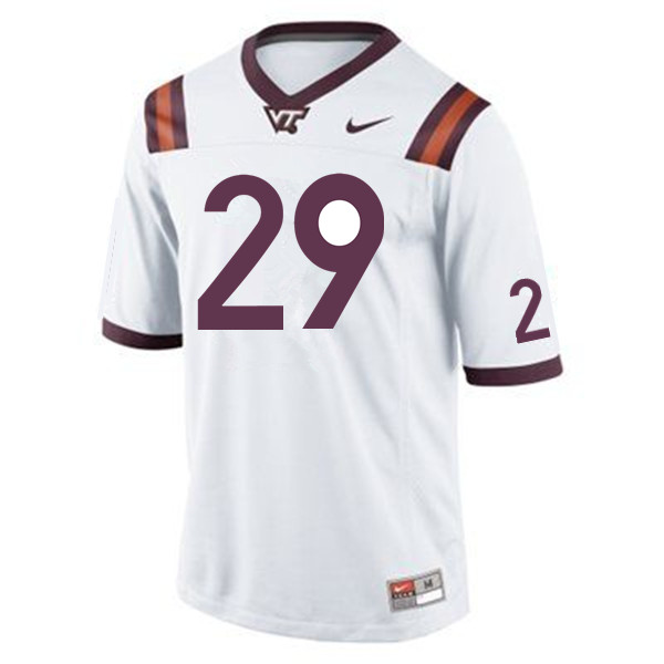 Men #29 Ishmiel Seisay Virginia Tech Hokies College Football Jerseys Sale-Maroon