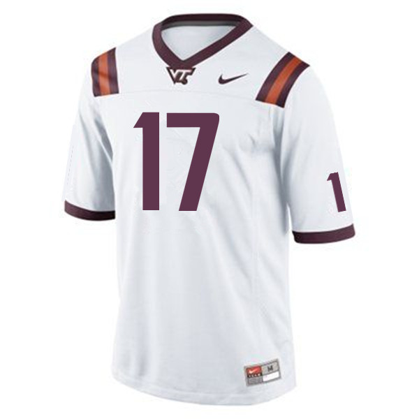 Men #17 Josh Jackson Virginia Tech Hokies College Football Jerseys Sale-Maroon