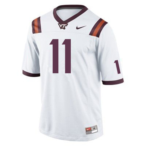 Men #11 Kendall Fuller Virginia Tech Hokies College Football Jerseys Sale-Maroon