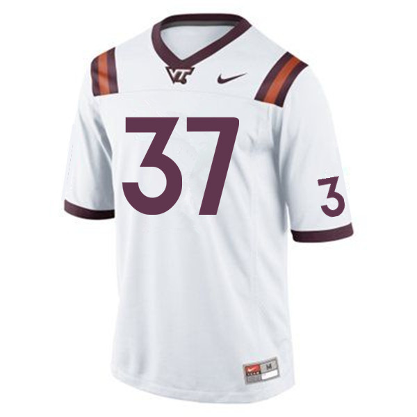 Men #37 Nicolas Conforti Virginia Tech Hokies College Football Jerseys Sale-Maroon
