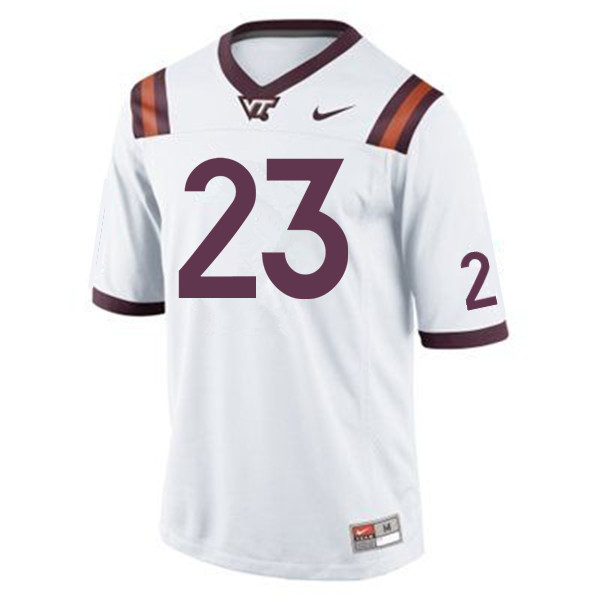 Men #23 Rayshard Ashby Virginia Tech Hokies College Football Jerseys Sale-Maroon