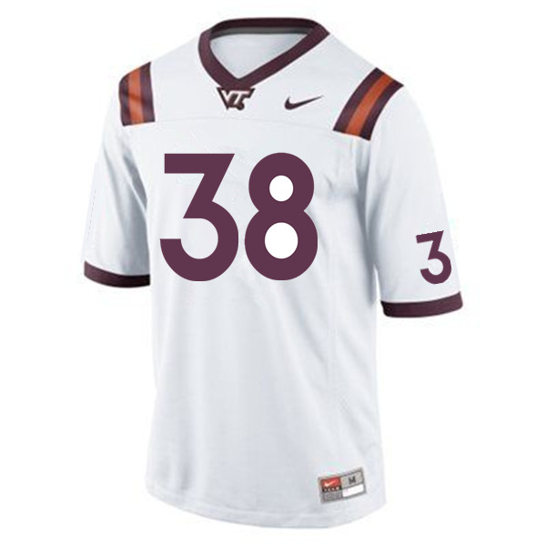 Men #38 Rico Kearney Virginia Tech Hokies College Football Jerseys Sale-Maroon
