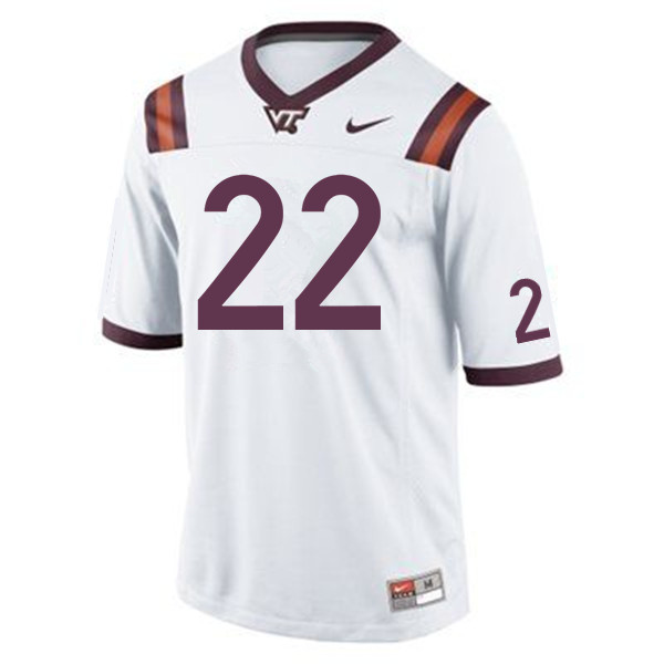 Men #22 Terrell Edmunds Virginia Tech Hokies College Football Jerseys Sale-Maroon