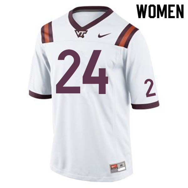 Women #24 Anthony Shegog Virginia Tech Hokies College Football Jerseys Sale-Maroon