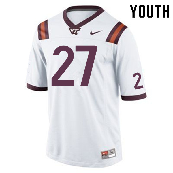 Youth #27 Shawn Payne Virginia Tech Hokies College Football Jerseys Sale-Maroon